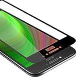 Cadorabo Verre Trempé couverture complète compatible avec Motorola MOTO E4 en TRANSPARENT avec...
