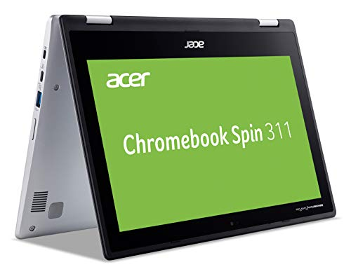 "Acer Chromebook CP311-2H-C7BG Argento 29,5 cm (11.6"") 1366 x 768 Pixel Touch Screen Intel® Celeron® N 4 GB LPDDR4-SDRAM 64 GB Flash Wi-Fi 5 (802.11ac) Chrome OS Chromebook CP311-2H-C7BG,"