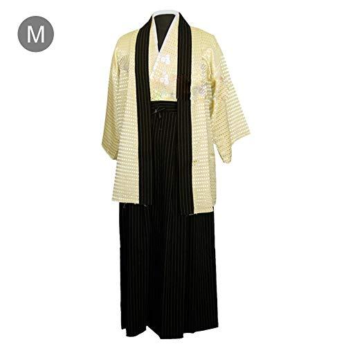 Hook.s. Japanischer Kimono der Männer, Gestickte Bühnenkostüme der Männer, Junge traditionelle Samurai-Krieger-Robe, Outfit, Baumwoll-Leinen-Foto-Kleidung für alle Gelegenheiten