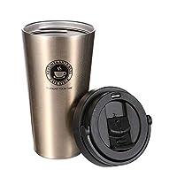 chimaera tazza termica,tazza per caffe da viaggio,tazza caffe portatile 304 acciaio inossidabile ,500ml tazza termica adatta a caffe,te e altre bevande