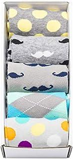 JFSocks (Classic Box 99) - Stylish Men's Happy Business Socks