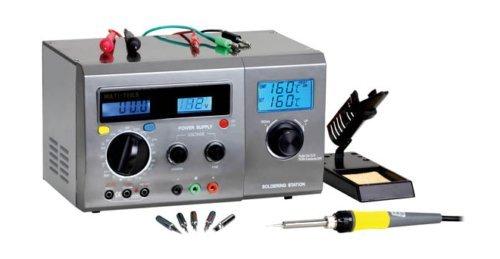 Zhongdi ZD-8901 Kombine 3 in 1 Digitale Lötstation - Multimeter - DC Netzteil Kompakt