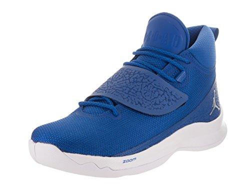 Nike Herren Jordan Super.Fly 5 PO Basketballschuhe Blau 44 EU
