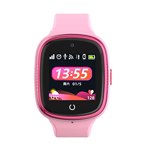 lencyotool Reloj Inteligente para Niños Reloj Inteligente Reloj De Teléfono con Pantalla Táctil HD Reloj para Niños Reloj Impermeable para Android para iOS Video Chat Watch with Call