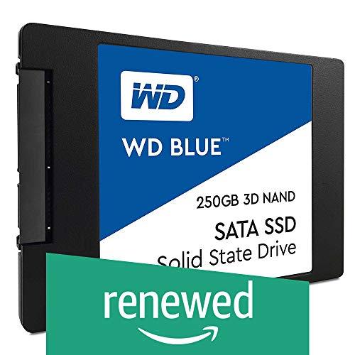 WD Blue 3D NAND 250 GB PC SSD - SATA III 6 Gb/s, 2,5 Zoll / 7 mm, WDS250G2B0A