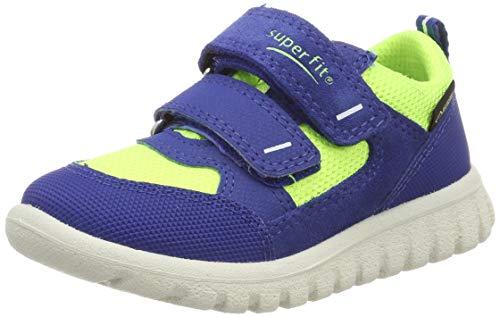 Superfit Jungen Sport7 Mini Gore-Tex Sneaker, Blau (Blau/Gelb 81), 27 EU