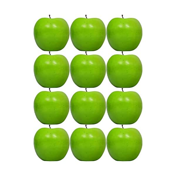 Black Duck Brand Set of 12 Decorative Life Size Fruit – Great for Decorating Your Home, Creating a Store Display, and Photo Props – Realistically Colored and Sized Fruit