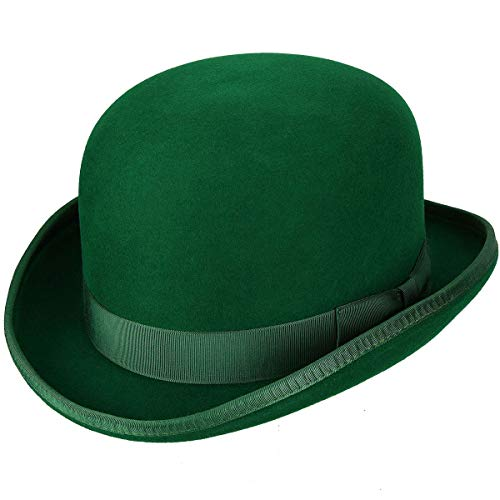 Hats.com Steed Derby Hat - Exclusive Kelly Green, Large