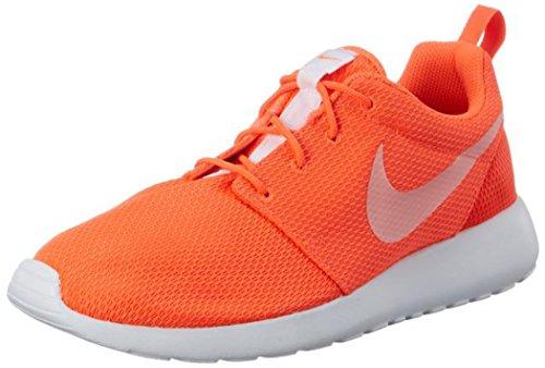 Nike Wmns Roshe One, Zapatillas de Deporte Mujer, Naranja (Total Crimson/White), 36.5 EU