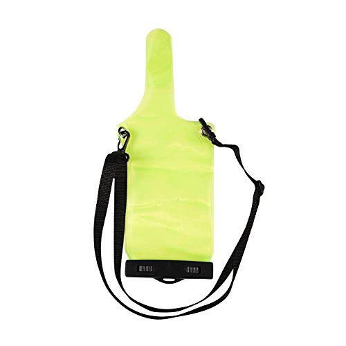 Draagbaar waterdicht etui voor portofoon UV5R UV82 BF 888S UVB6 Draagbaar elektronisch apparaat Beschermtas met draagkoord, volledige beschermhoes