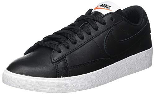 Nike W Blazer Low LE, Zapatillas de Deporte Mujer, Negro (Black/White/Gum Light Brown 001), 38 EU
