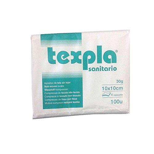 Gasas No Esteril TNT Plegada 10 x 10 30g 4 C-Caja 200u