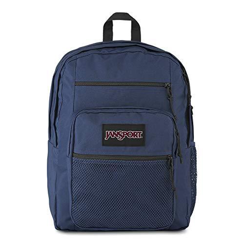 JanSport Big Campus 15 Inch Laptop Backpack - Lightweight Daypack, Navy