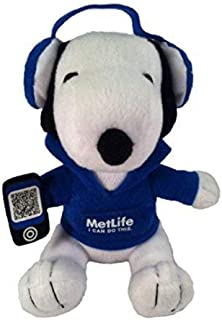Metlife Snoopy Plush with Headphones by Metlife