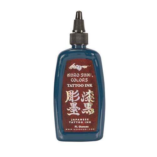 Kuro Sumi Tattoo Ink 1/2oz 1/2 oz ounce (BUDDHA BLUE)