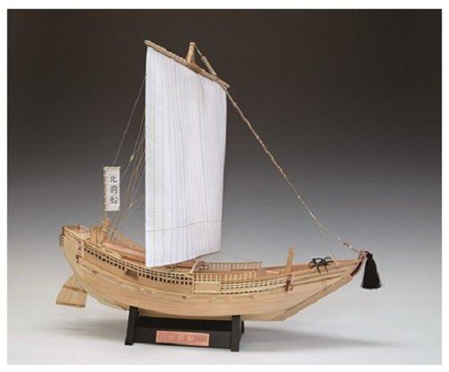 ウッディジョー 1/72 北前船 木製帆船模型 組立キット