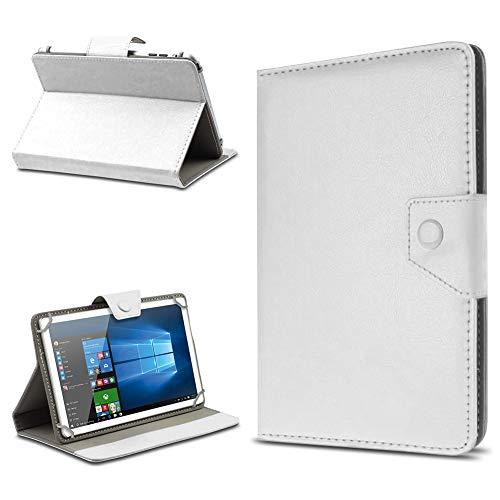 UC-Express Tasche für Odys Wintab GEN 8 Hülle Hülle Schutz Tablet Klapp Cover Schutzhülle, Farben:Weiß