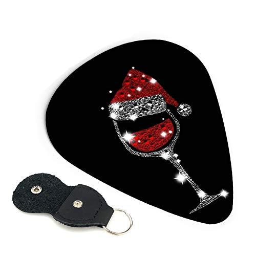Diamond - Púas de guitarra para copas de vino, diseño de diamantes, para guitarra acústica y amantes, mandolina y bajo, 0,96 mm