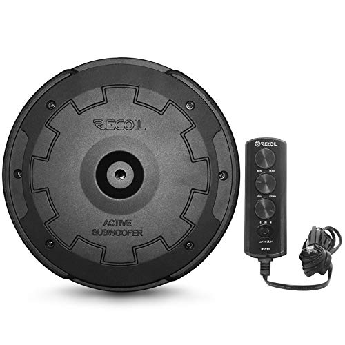 """Recoil RST11 Hidden 11"""" Powered Active Car Subwoofer Spare Tire"""