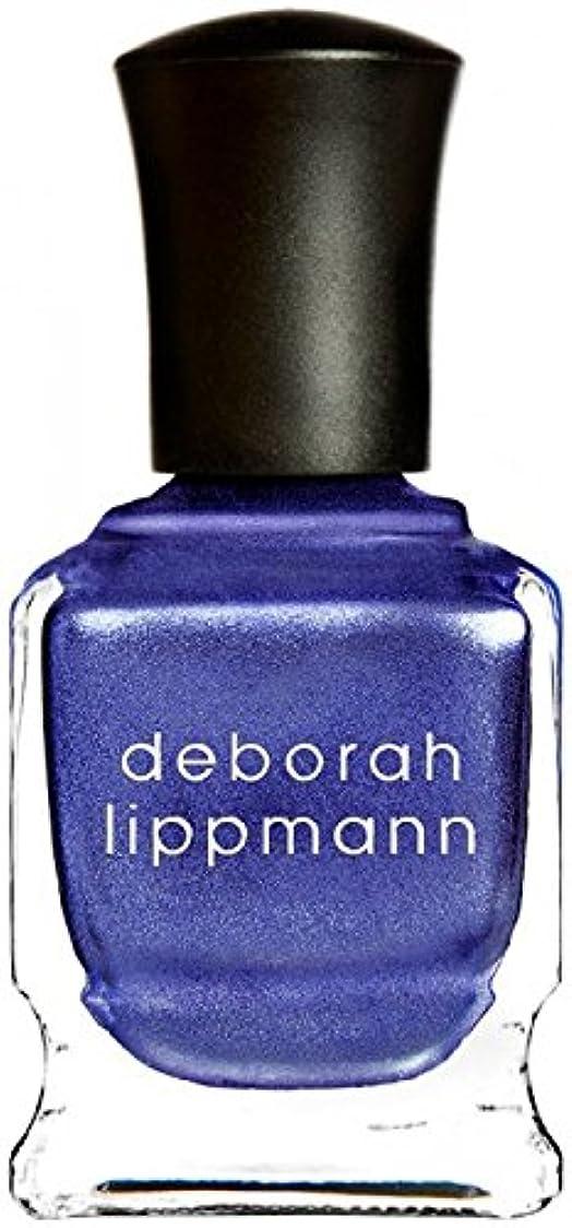 人形言語倒錯[Deborah Lippmann] デボラリップマン ハーレムノクターン HARLEM NOCTURNE とても乾きが速く筋になりにくいクロームシリーズ 夜へ向かう空のような深い青と日の光を混ぜたような 深く静かに光るカラー 内容量:15mL