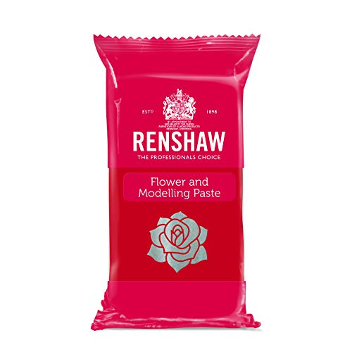 Renshaw Flower & Modelling Paste -Carnation Red- 250 g