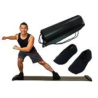 バランスワン スライドボード スライダーボード スライディングボード 180cm 体幹トレーニング用 ダイエット コンパクト収納