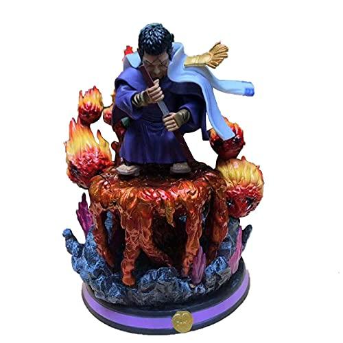 Anime One Piece Marine Naval Headquarters Q Issho Gk Figuras De Acción PVCColección DeGran TamañoModeltoy Decoración De Escritorio 27Cm