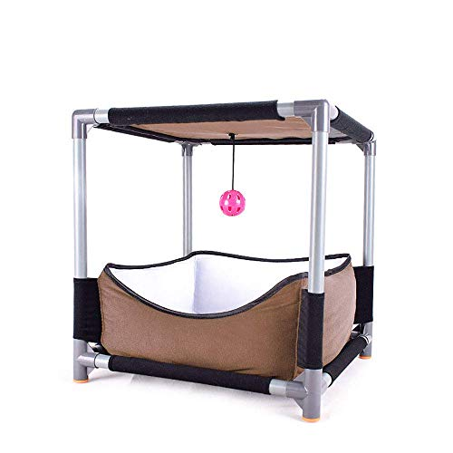 Luxus-Katze Springen Plattform Katze Klettergerüst Removable Katze Nest Multi - Funktionsmöbel Sprungbrett-Bett-Spielzeug ccgdgft