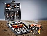 Destornilladores magnéticos MAGNET DRIVER DDN | Kit de taladro magnético, con brocas, puntas y portapuntas magnéticos | Para herramientas eléctricas y destornilladores manuales