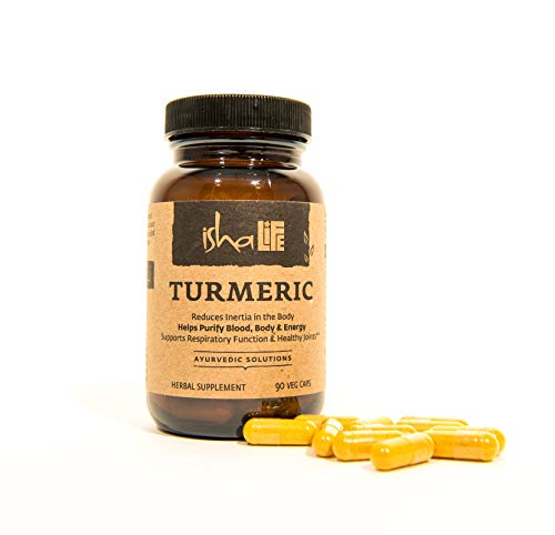 Health Shopping Isha Organic Turmeric Curcumin Supplement — Natural Ayurvedic