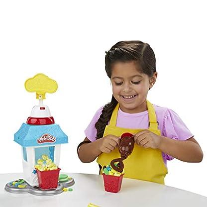 Play-Doh Popcornmaschine mit 6 Dosen Play-Doh Knete, ab 3 Jahren 11