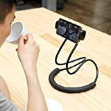 Lazy Neck Phone Holder, Neck Hanging Mobile Cell Phone Stand, Multiple Function Bracket