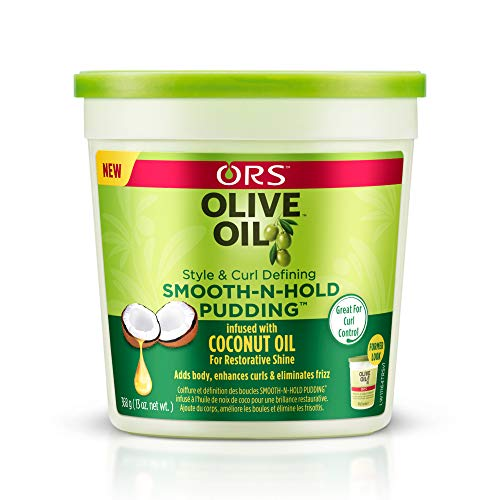 Organic Root (ORS) Ors huile d'olive Pudding lisse 13 Ounce Tub (384ml) (3 Pack)