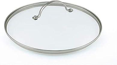 GreenPan Glasdeckel 32 cm für Brat-Pfannen Gross Universal Lid, 32, Transparent