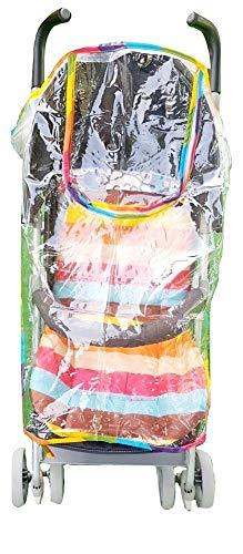 Kinderwagenhoes - regenhoes - universeel - waterdicht - pvc - transparant - reizen - origineel idee voor een verjaardagscadeau voor kerstmis