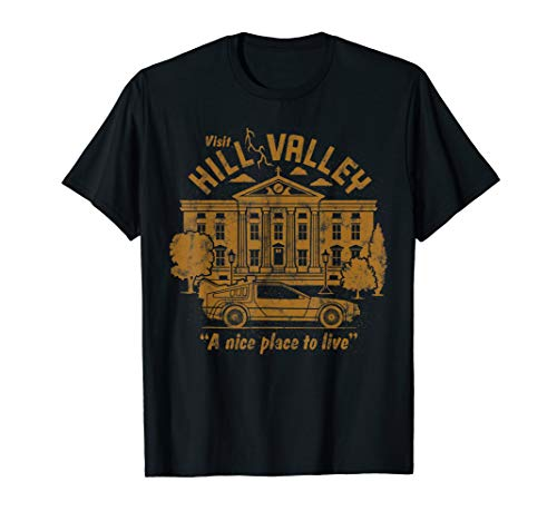 Hill Valley A Nice Place To Live T-Shirt, Adult and Youth Sizes