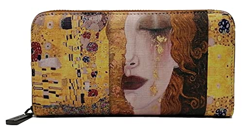 KEVIN JEANS Portafoglio donna ,bello,grande,spazioso,pelle,rfid,regalo,portafoglio con portamonete,Porta banconote,portafoglio ragazza (BUGIA)