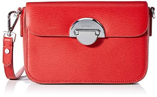 Bogner Damen Zürs Paula Shoulderbag Xshf Schultertasche, Rot (Red), 7x12x20 cm