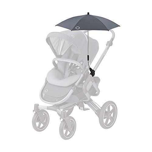 Maxi-Cosi Parasol, stylischer und praktischer Sonnenschirm für alle Maxi-Cosi Kinderwagen und viele mehr, mit UV-Lichtschutz 40+ inkl. Univsersal-Befestigung, essential graphite