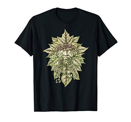 Greenman Celtic Nature Spirit T-Shirt