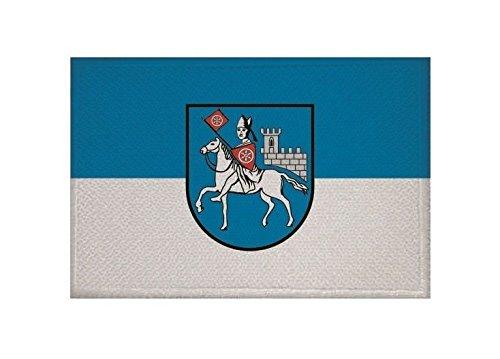 U24 Aufnäher Heilbad Heiligenstadt Fahne Flagge Aufbügler Patch 9 x 6 cm