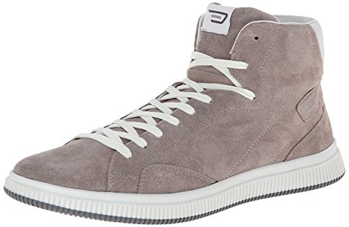 DIESEL Sprawl, Chaussures en Forme de Bottines Homme, Taupe, 44 EU
