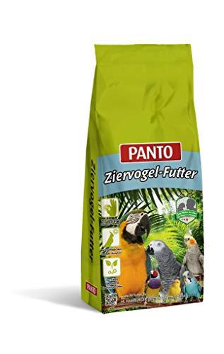 Panto Ziervogelfutter, Großsittichfutter Spezial ohne Sonnenblumenkerne 25 kg, 1er Pack (1 x 25 kg)