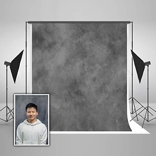 KateHome PHOTOSTUDIOS 3x3m abstrakt Fotografie Hintergrund grau Textur Photo Background Portrait...