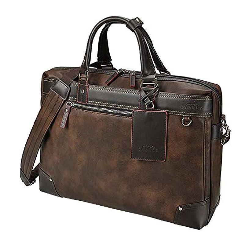 特権亡命セッションウノフク BAGGEX GALLANT バジェックス ギャラン ビジネスバッグ ブリーフケース ショルダーバッグ B4 ダークブラウン 23-5609-55