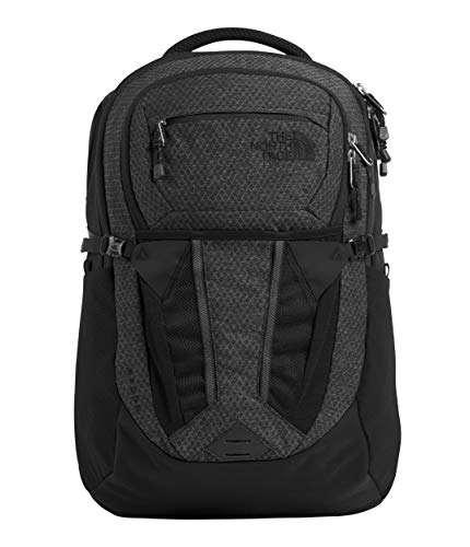 The North Face Women's Recon Backpack, TNF Black Heather/Silver Reflective, One Size