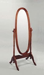 Crown Mark Cheval Mirror, Oak