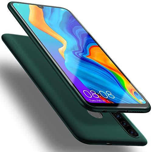 X-level Huawei P30 Lite Hülle, [Guardian Serie] Soft Flex TPU Hülle Superdünn Handyhülle Silikon Bumper Cover Schutz Tasche Schale Schutzhülle für Huawei P30 Lite New Edition - Grün