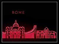 ローマ メタルポスタレトロなポスタ安全標識壁パネル ティンサイン注意看板壁掛けプレート警告サイン絵図ショップ食料品ショッピングモールパーキングバークラブカフェレストラントイレ公共の場ギフト