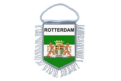 Akachafactory Wimpel minivlag vlag minivlag Rotterdam Nederlands